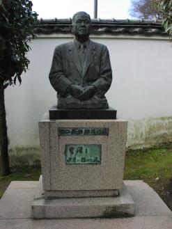 銅像 田口長治郎